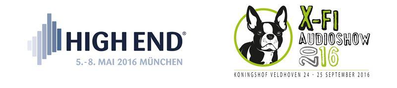 Logo High End en X-fi